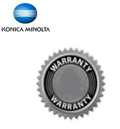 Konica Minolta Extended service agreement 1 year on-site