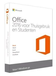 Microsoft Office Home  Student 2016, FR 1 license(s) French