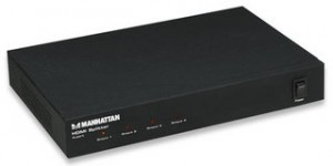 Manhattan 4-port HDMI Splitter 4x HDMI