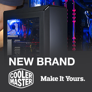 NEW in our Range : COOLER MASTER