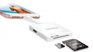 ADATA AI910 card reader White Micro-USB/Lightning