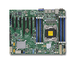 Supermicro X10SRL-F server/workstation motherboard LGA 2011 (Socket R) Intel® C612 ATX