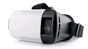 Modecom MC-G3DP Smartphone-based head mounted display Black, White 410 g