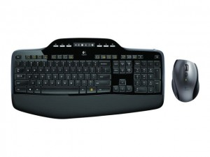 Logitech MK710 keyboard RF Wireless AZERTY Belgian Black