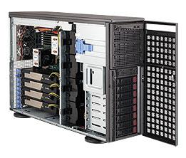 Supermicro CSE-747TG-R1400B-SQ computer case Full-Tower