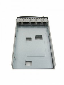 Supermicro MCP-220-00043-0N drive bay panel 8.89 cm (3.5) Bezel panel Silver