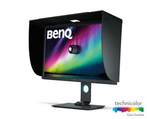 Benq SW320 computer monitor 80 cm (31.5) 3840 x 2160 pixels 4K Ultra HD LED Flat Grey