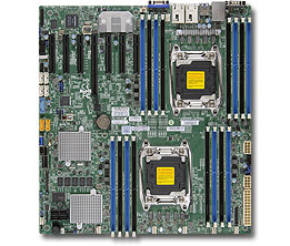 Supermicro X10DRH-C server/workstation motherboard LGA 2011 (Socket R) Extended ATX Intel® C612