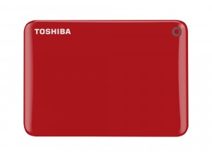 Toshiba Canvio Connect II 500GB external hard drive Red