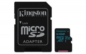 Kingston Technology Canvas Go! 64GB MicroSDXC UHS-I Class 10 memory card