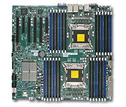 Supermicro X9DRi-LN4F+ Retail server/workstation motherboard LGA 2011 (Socket R) Extended ATX Intel® C602