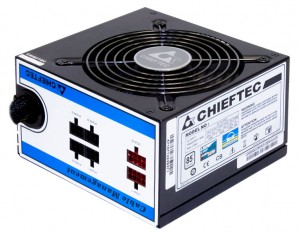 Chieftec CTG-650C power supply unit 650 W 24-pin ATX ATX Black