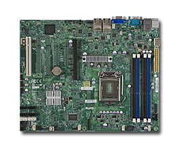 Supermicro MBD-X9SCI-LN4F-O server/workstation motherboard LGA 1155 (Socket H2) Intel® C204 ATX