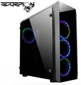 Chieftec Scorpion II Midi Tower Black