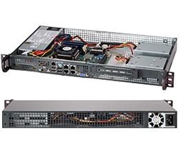 Supermicro CSE-505-203B server barebone Rack (1U) - Cases - Servers