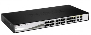 D-Link DGS-1210-24 network switch Managed L2 Gigabit Ethernet (10/100/1000) 1U Black