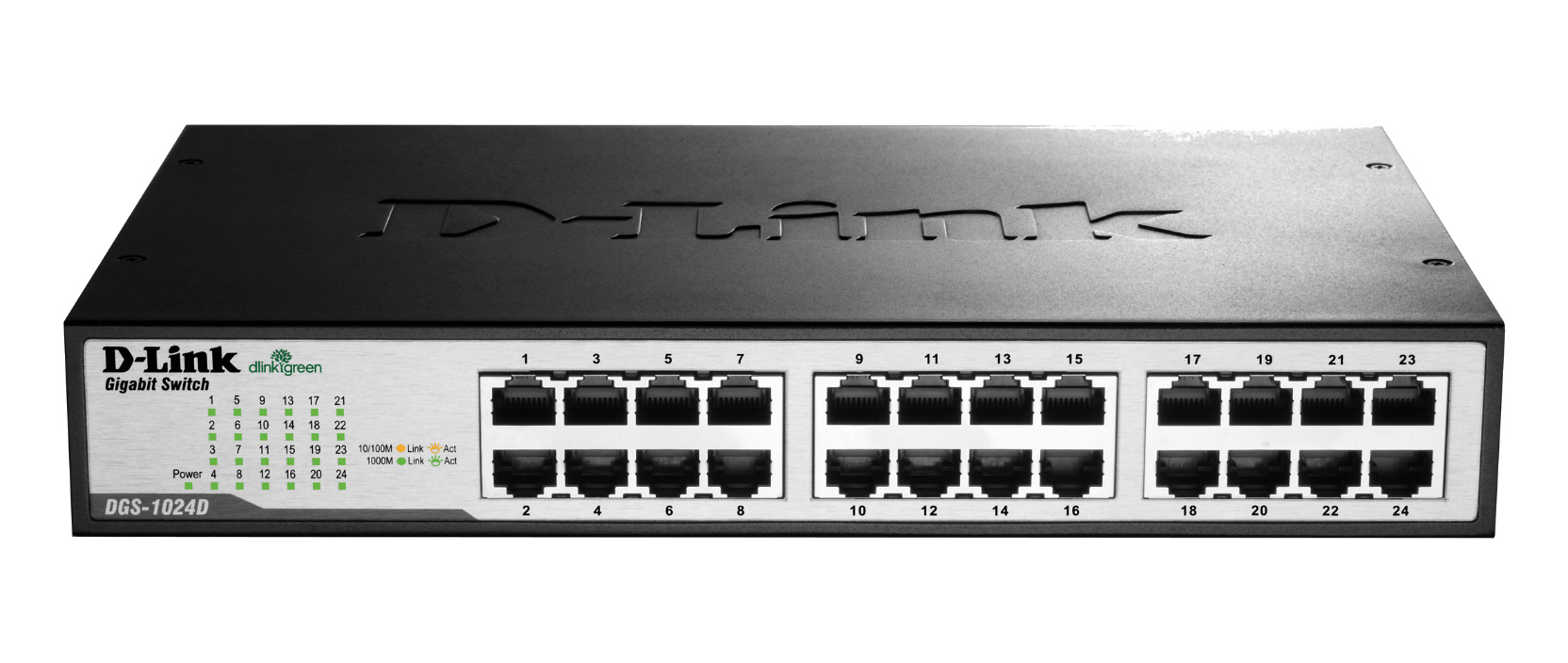 D-Link DGS-1024D Unmanaged - Switches - Network Products - 2BY2