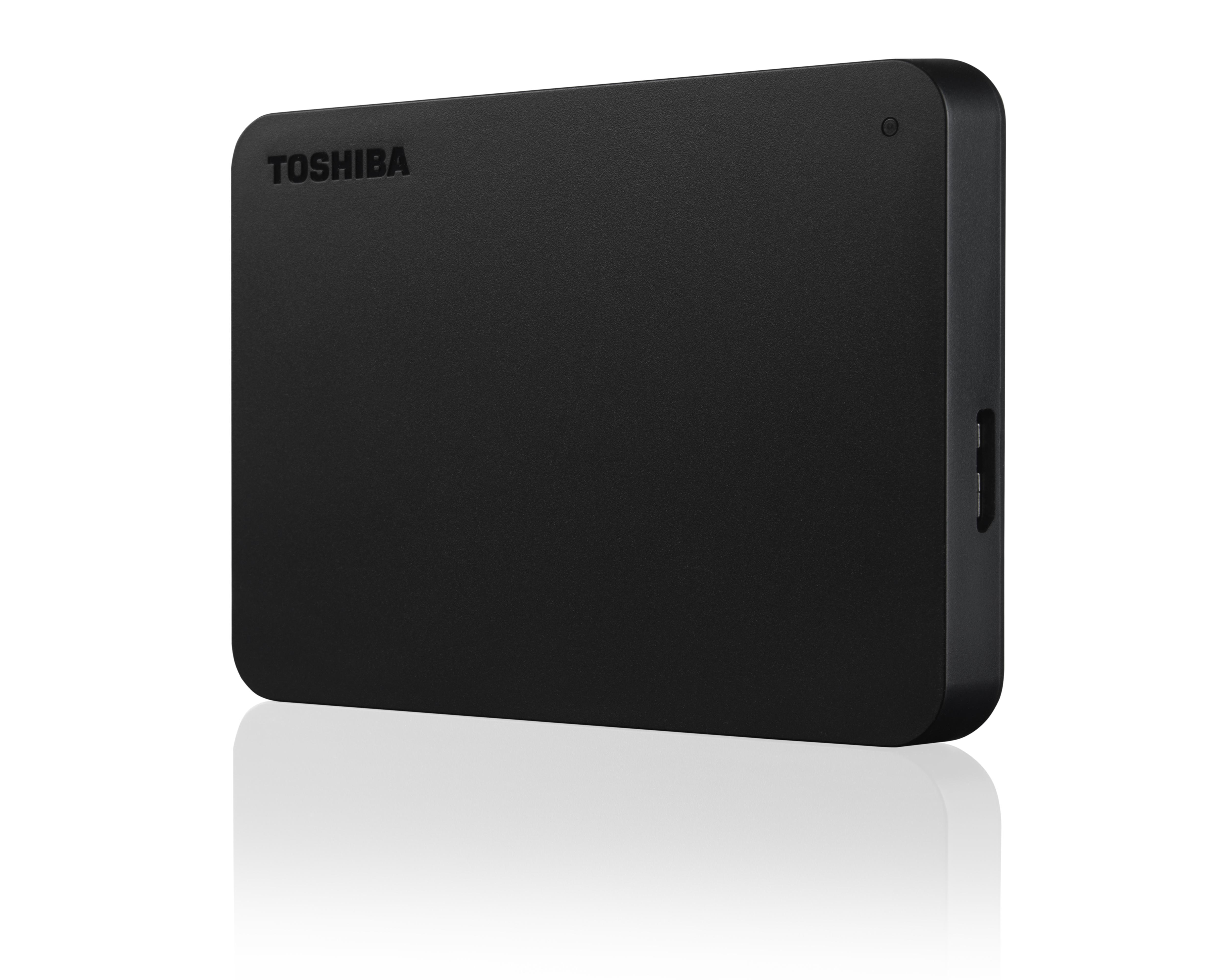 Toshiba Canvio Basics 1 TB Black - External HDD Drives - HDD Drives