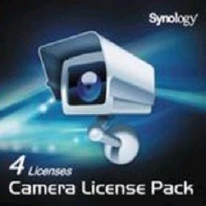 Synology 4 cam Lic Pack - Surveillance - NAS Devices
