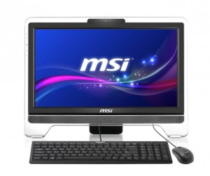 MSI Wind Top AE2051-003NL 50.8 cm (20) 1600 x 900 pixels Touchscreen 1.7 GHz AMD E E2-1800 Black