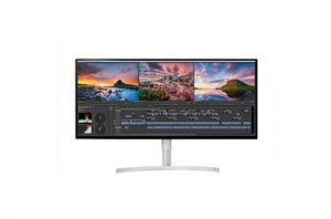 LG 34WK95U-W computer monitor 86.4 cm (34) 5120 x 2160 pixels 5K Ultra HD LED Black, Silver, White