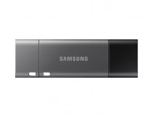 Samsung Duo Plus USB flash drive 64 GB USB Type-C 3.0 (3.1 Gen 1) Black,Grey
