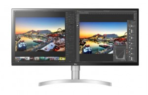 LG 34WL850-W LED display 86.4 cm (34) 3440 x 1440 pixels UltraWide Quad HD Black, Silver