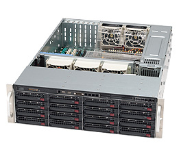 Supermicro 836E16-R1200B Rack Black 1200 W