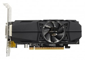 Gigabyte GeForce GTX 1050 Ti OC Low Profile 4G NVIDIA 4 GB GDDR5