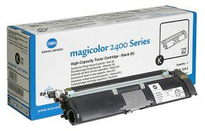 Konica Minolta Toner Black for MagiColor 2400 Original