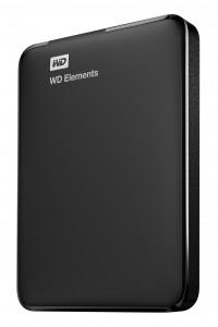 Western Digital WD Elements Portable external hard drive 4000 GB Black
