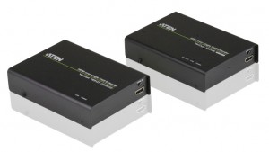Aten VE812R AV extender AV repeater Black