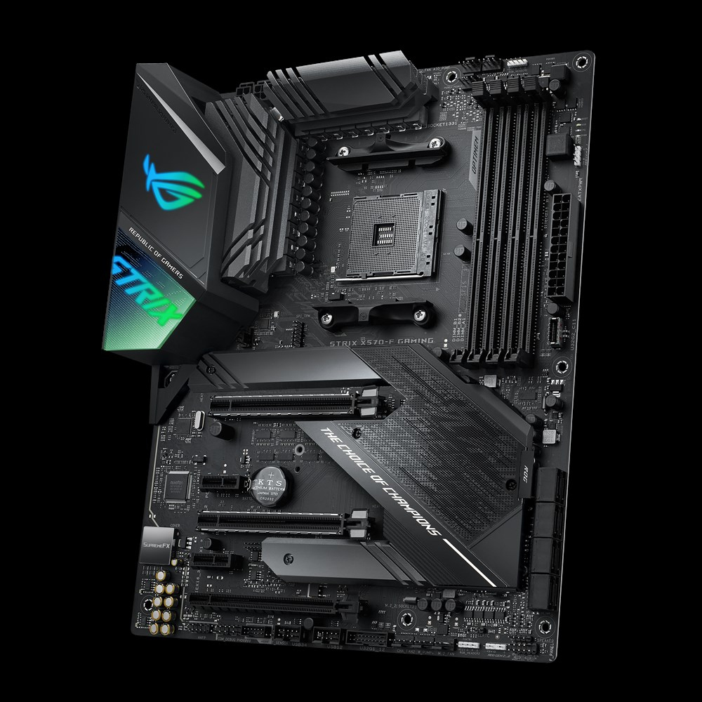 Asus Rog Strix X570 F Gaming Motherboard Socket Am4 Atx Amd X570 Atx Motherboard For Amd Components 2by2