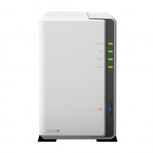 Synology DiskStation DS220j RTD1296 Ethernet LAN Mini Tower White NAS