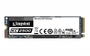 Kingston Technology KC2500 M.2 500 GB PCI Express 3.0 3D TLC NVMe