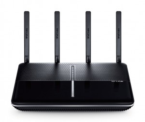 TP-LINK Archer C3150 wireless router Tri-band (2.4 GHz / 5 GHz / 5 GHz) Gigabit Ethernet Black