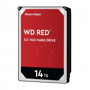 Western Digital WD Red NAS Hard Drive 3.5 14000 GB Serial ATA