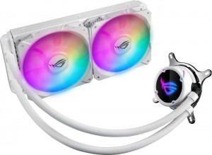 ASUS ROG Strix LC 240 RGB White Edition computer liquid cooling Processor