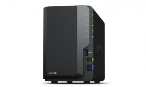 Synology DiskStation DS220+ NAS/storage server Compact Ethernet LAN Black J4025