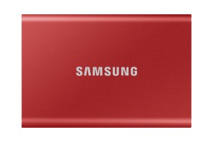Samsung Portable SSD T7 500 GB Red