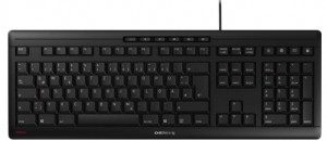 CHERRY JK-8500 keyboard USB AZERTY Belgian Black