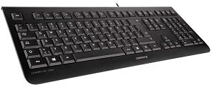 CHERRY KC 1000 keyboard USB AZERTY Belgian Black